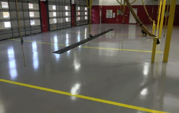 REFLECTOR™ Enhancer Floor/ Elite Crete Systems Car Shop