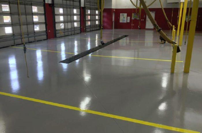 REFLECTOR™ Enhancer Floor/ Elite Crete Systems Car Shop