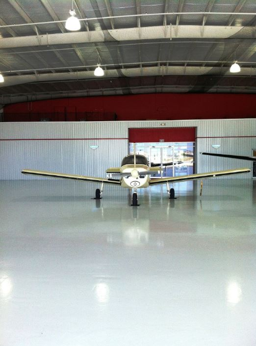 REFLECTOR™ Enhancer Floor/ Elite Crete Systems AirPort Hanger